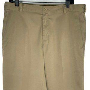 Nike Golf Activewear Pants Beige Dri-Fit 35x32